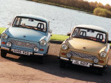 Trabants Owned by Father and Son, November 1998 Photographic Print