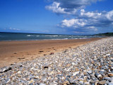 Beach at St. Laurent Sur Mer, AKA Omaha, One of the Five D Day Landing Beaches, Normandy Sep 1999 Photographic Print