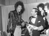 Jimi Hendrix, with Jeremy Thorpe Leader of the Liberal Party, September 1967 Photographic Print