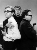 Spike Milligan Comedian with Peter Sellers Harry Secombe as the Goons are Back Photographic Print