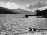 A Pier on Loch Lomond Photographic Print