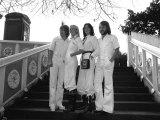 Abba Bjorn Ulvaeus, Agnetha Falstog, Fride Lyngstad and Benny Andersonon, November 1976 Photographic Print