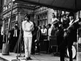 Rolling Stones Fotografisk tryk