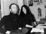 John Lennon and Yoko Ono, June 1969 Photographic Print