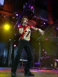 Mick Jagger at Twickenham Tonigght, August 2003 Photographic Print