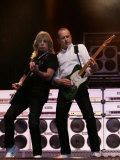 80s Rock Legends Status Quo Play at Swedish Rock Festival, June 2005 Photographic Print