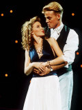 Jason Donovan Arms Round Kylie Minogue Photographic Print