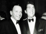 Frank Sinatra, Dean Martin Photographic Print
