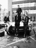 The Clash Pop Group British Punk Rock Band, 1980 Papier Photo