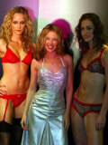 Kylie Minogue Launches Her New Clothing Line/Range of Lingerie Called Love Kylie, February 2003 Photographic Print