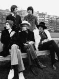 Rolling Stones Mick Jagger Brian Jones, Bill Wyman Keith Richards Charlie Watts Fotografisk tryk