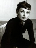 Audrey Hepburn, September 1954 Fotografie-Druck