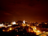 Edinburgh City at Night, October 1999 Photographic Print