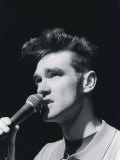 The Smiths, Manchester Band Lead Singer Morrissey, March 1984 Photographie