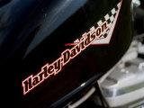 Harley Davidson Motorbike, June 1998 Photographic Print