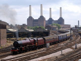 Princess Elizabeth Steam Train Steaming in to Victoria Station Photographic Print