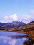 Snowdon Horseshoe Wales Photographic Print