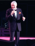 Frank Sinatra on Stage in Concert, July 1990 Photographic Print