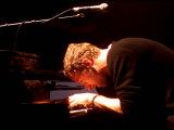 Chris Martin of Coldplay, One Big No Anti War Concert, Shepherds Bush Empire in London, March 2003 Fotografická reprodukce
