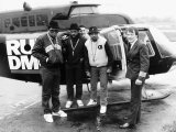 Run DMC American Pop Group Rap Outside Helicopter, 1987 Photographic Print