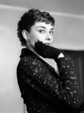 Audrey Hepburn, September 1954 Photographie