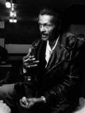 Chuck Berry 1975 Concert Fotografisk tryk