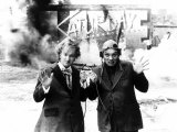 Rik Mayall and Adrian Edmundson as the Dangerous Brothers Photographic Print