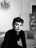 Audrey Hepburn, September 1954 Reprodukcja zdjęcia