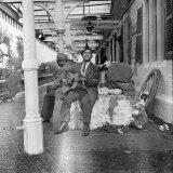 Brownie McGhee American Blues Singer Fotografie-Druck