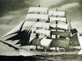 The SV Glenlee Under Full Sail Photographic Print