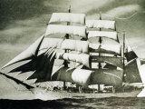 The SV Glenlee Under Full Sail Photographic Print