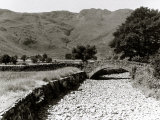 Great Langdale Becks in Late District During the Drought, June 1976 Photographic Print
