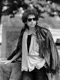 Bob Dylan American Folk Singer and Legend Fotografisk trykk