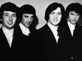 The Kinks L-R Peter Quaife, Mick Amory, Dave Davies and Ray Davies, 1966 Fotografisk tryk