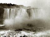 Niagara Falls Canada, April 1970 Fotografie-Druck