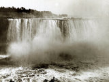 Niagara Falls Canada, April 1970 Photographic Print