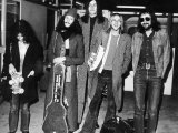 Fleetwood Mac Pop Group Arriving at Heathrow Airport Photographic Print