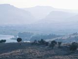 Valley - Israel, Hills of Galilee, Sea of Galilee Photographic Print