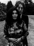 John Lennon & Yoko Ono Photographic Print