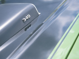 Close-up of a Vent on Muscle Car Photographie