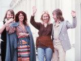 Abba Swedish Pop Group Fotoprint