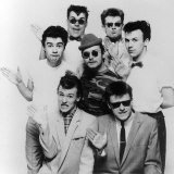 Madness Pop Group Carl, Lee, Mark, Suggs, Chris, Mike and Woody Fotoprint