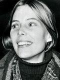 Joni Mitchell, American Folk Singer in London, 1969 Photographic Print