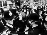 John Lennon & Yoko Ono after Their Court Appearance at Marylebone Magistrates in London Photographic Print