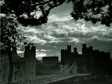 Night Hides the Scars of Seven Centuries; Conway Castle, March 1942 Photographic Print