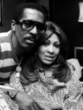 Ike and Tina Turner Fotografie-Druck