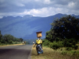 Malawi -The Road to Zomba Photographic Print