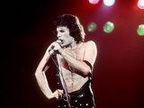 Freddie Mercury vokalist i Queen Fotografisk trykk
