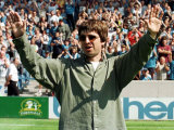 Noel Gallagher at Maine Road Football Ground, August 1997 Photographie