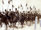 Turkish Cavalry in Constantinople during Balkans War, October 1912 Photographic Print